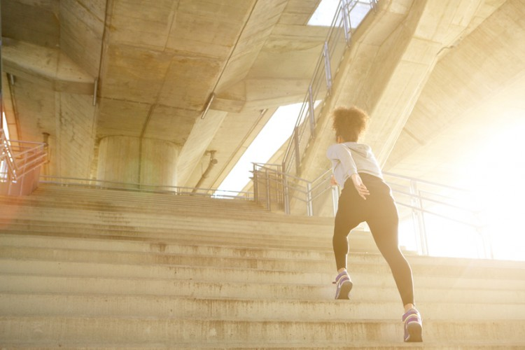 Ways To Burn Belly Fat Walk Up The Stairs – And Skip Steps