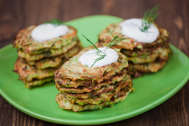 Weight Loss Recipes Healthy Zucchini Fritters