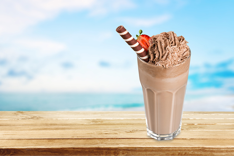 "Burn Belly Fat-Chocolate Blended ""Ice Cream"""