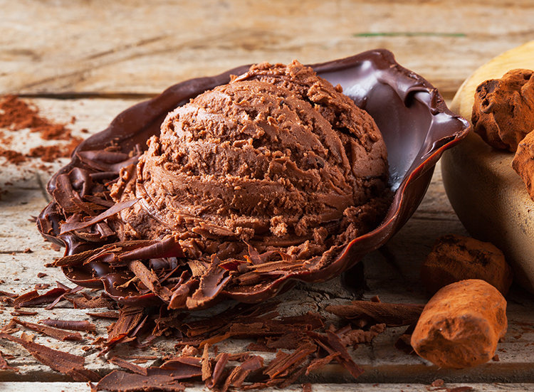 Burn Belly Fat-Chocolate Soft Serve