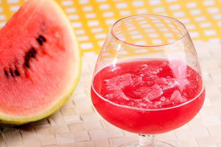 Smoothie Recipes for weight Loss- Watermelon Slushie Smoothie