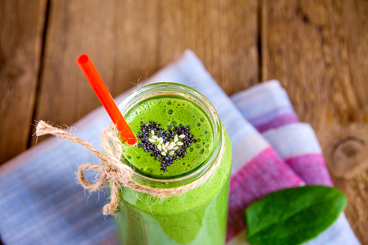 Smoothie Recipes for weight Loss- Green Delight Smoothie