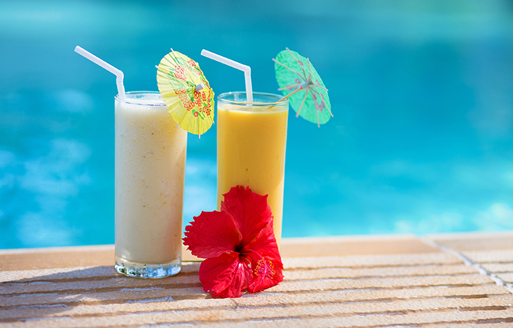 Smoothie Recipes for weight Loss- Island Getaway Smoothie