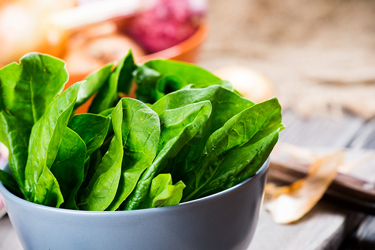 Best Veggies For Weight Loss-Spinach