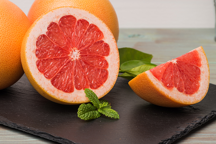 Foods That Burn Belly Fat-Grapefruit