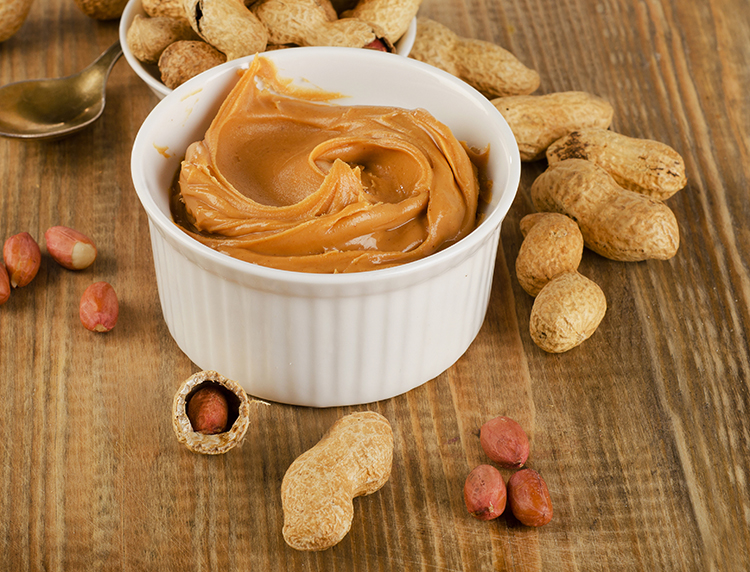 Foods That Burn Belly Fat-Peanut butter