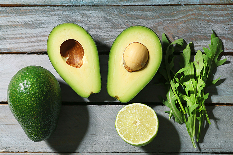 How to Get a Flat Tummy-Add in avocadoes
