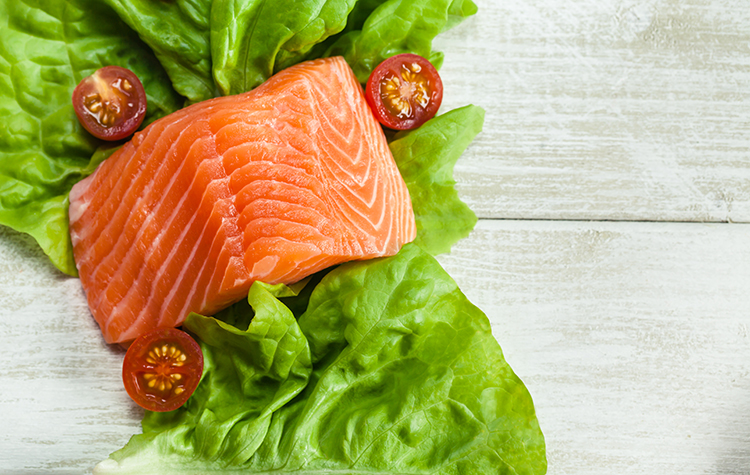 Beat Stubborn Belly Fat With-Wild salmon
