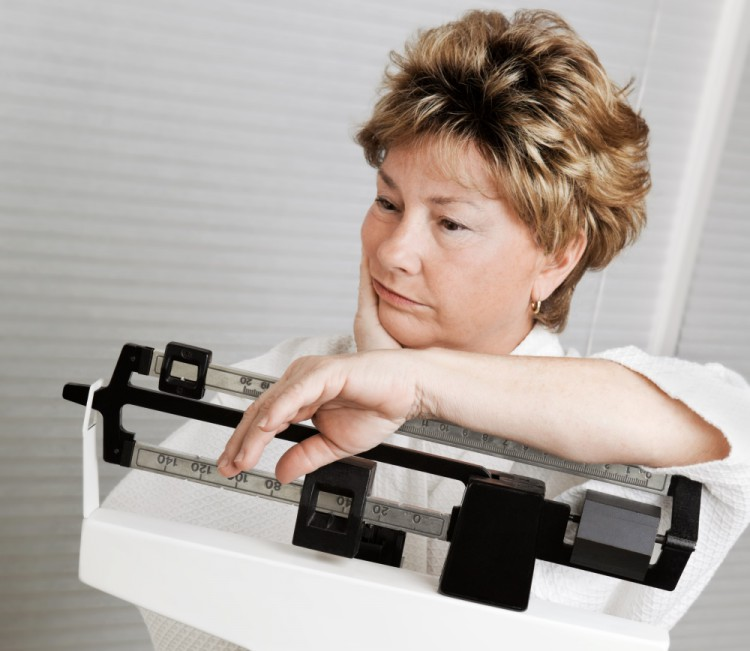 Weight loss is harder due to menopause