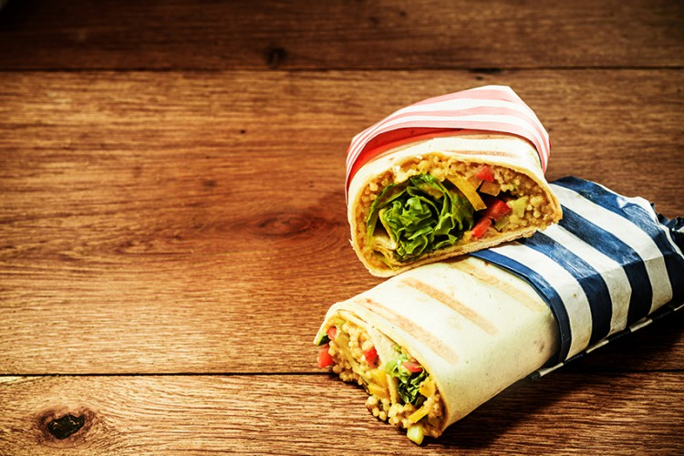 Foods That Cause Belly Fat Are Wrap Sandwiches