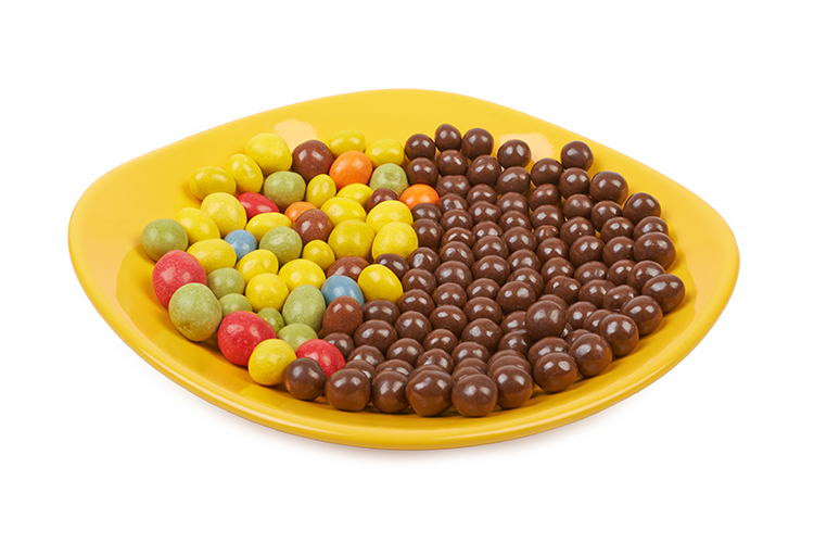 Lose Stomach Fat With-Peanut M&Ms