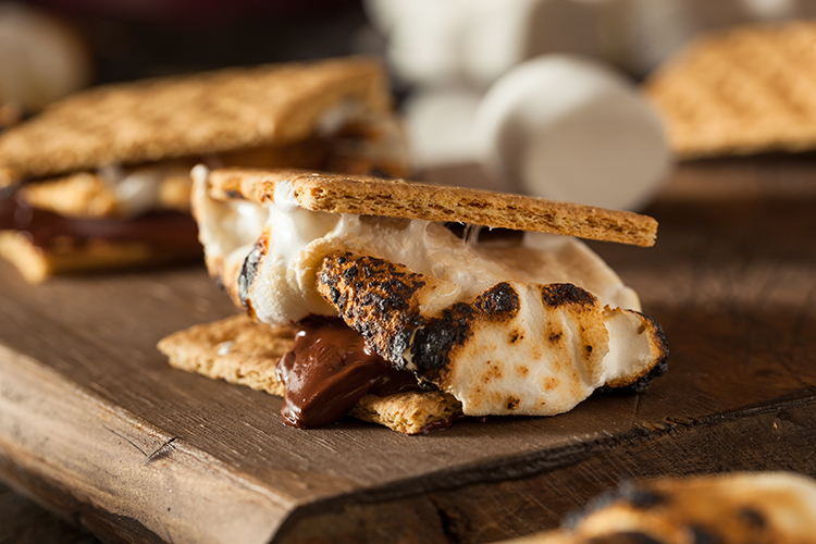 Get A Flat Belly With-Low sugar S'mores