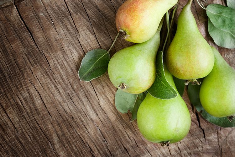 Get A Flat Belly With-A whole pear