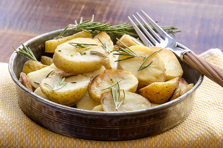 Get A Flat Belly With- Rosemary potatoes