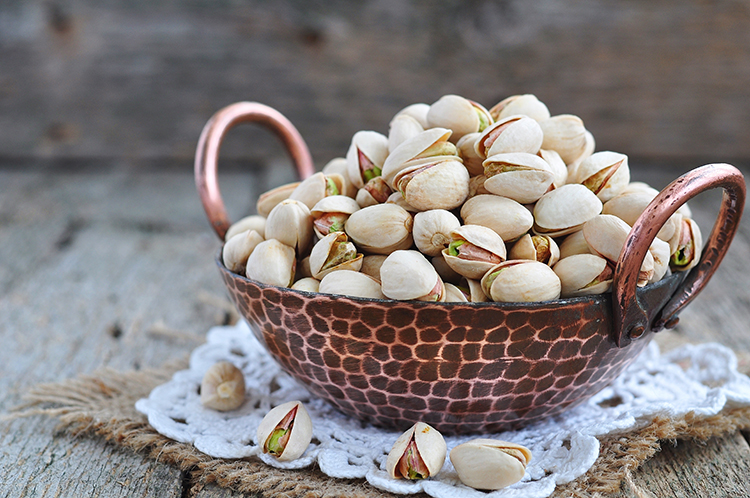 Get A Flat Belly With-Pistachios
