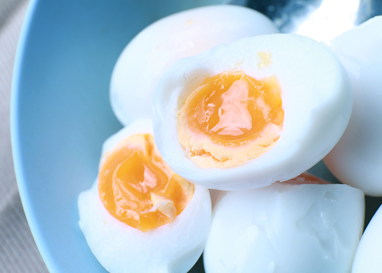 Get A Flat Belly With-Hard-boiled egg