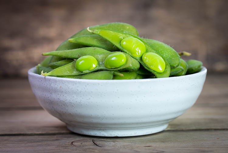 Get A Flat Belly With-Edamame