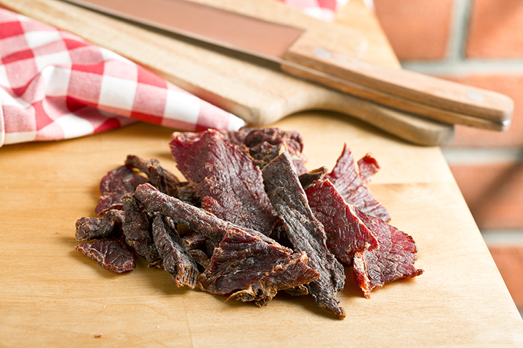 Get A Flat Belly With-Beef jerky