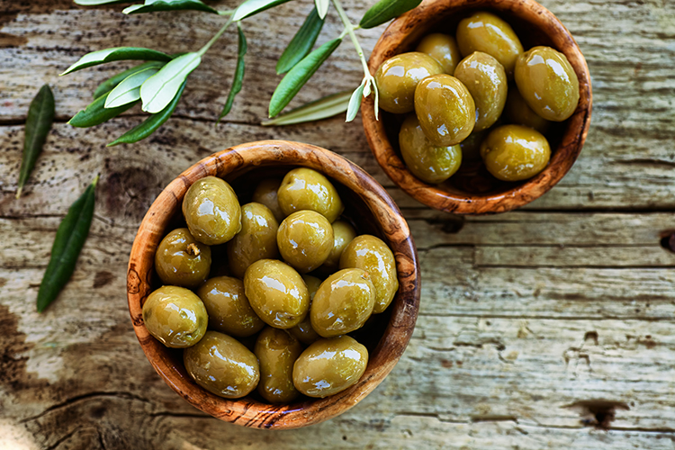 Get A Flat Belly With-Olives