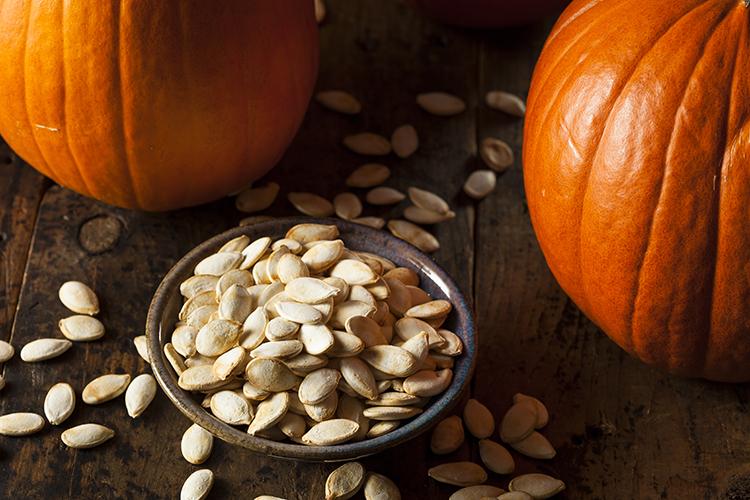 Get A Flat Belly With-Pumpkin seeds