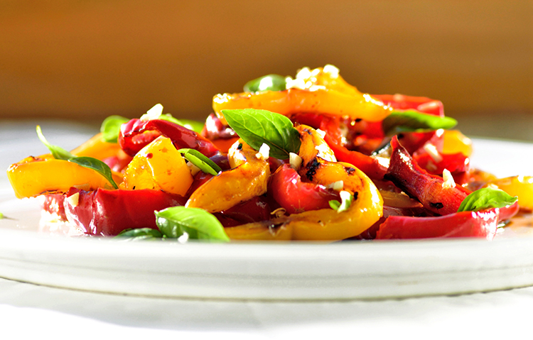 Get A Flat Belly With-Balsamic peppers