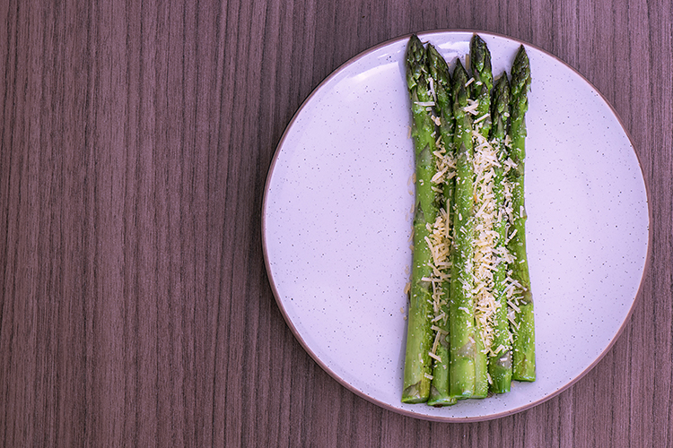 Get A Flat Belly With-Roasted asparagus