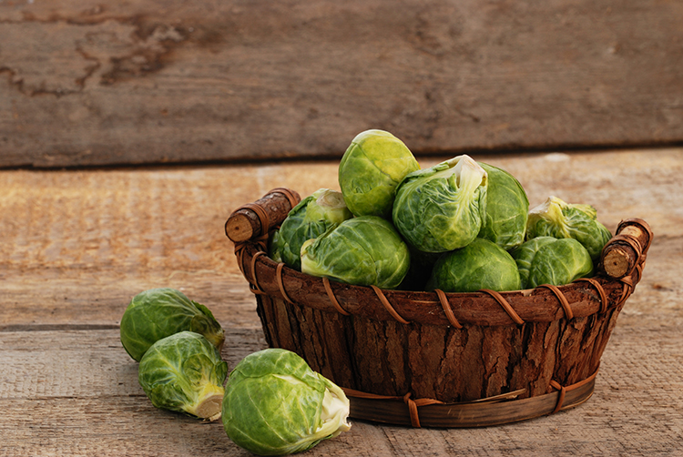 Get A Flat Belly With-Brussels sprouts