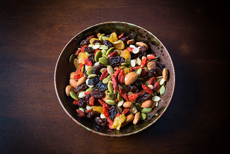 Get A Flat Belly With-Trail mix