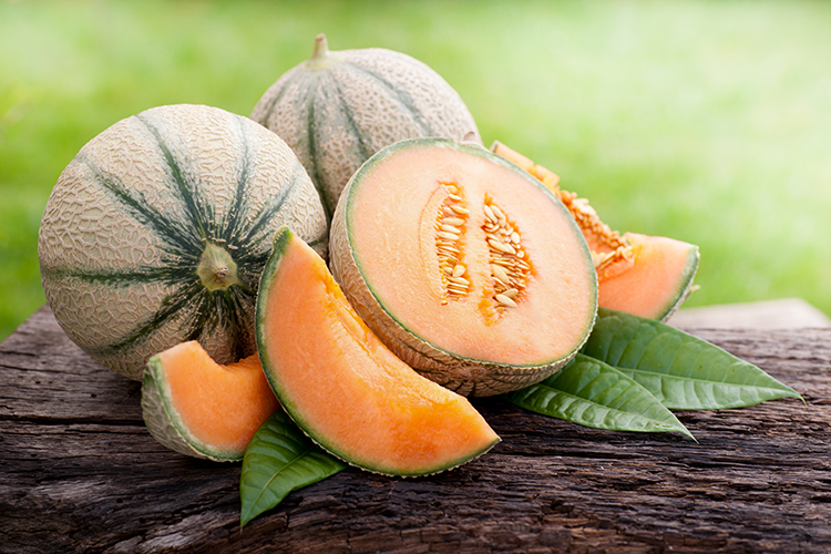 Foods That Reduce Bloating-Cantaloupe
