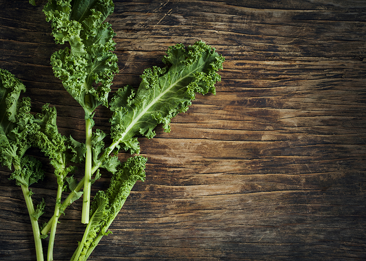 Foods That Reduce Bloating-Kale