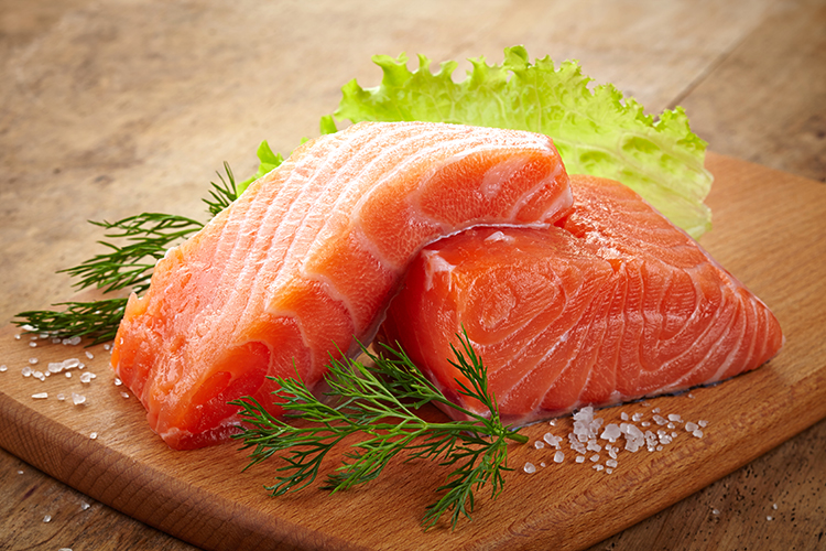 Foods That Reduce Bloating-Salmon