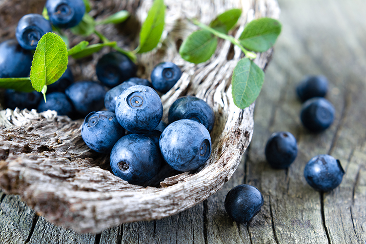 Foods That Reduce Bloating-Blueberries
