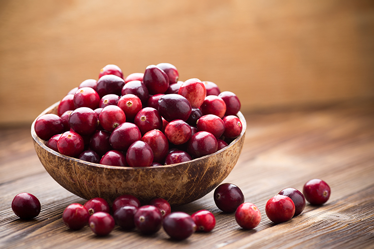 Foods That Reduce Bloating-Cranberries