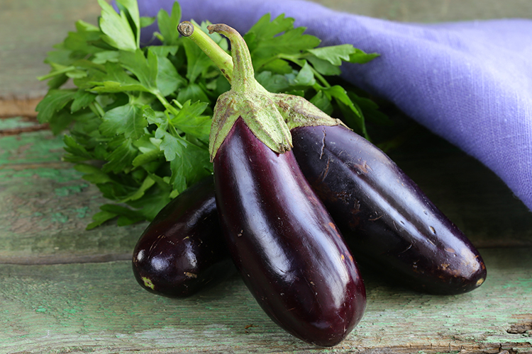 Foods That Reduce Bloating-Eggplants