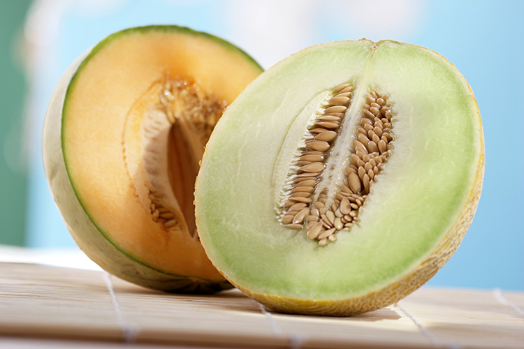 Foods That Reduce Bloating-Honeydew melon