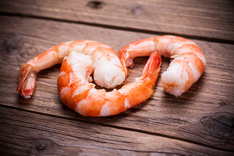 Foods That Reduce Bloating-Shrimp