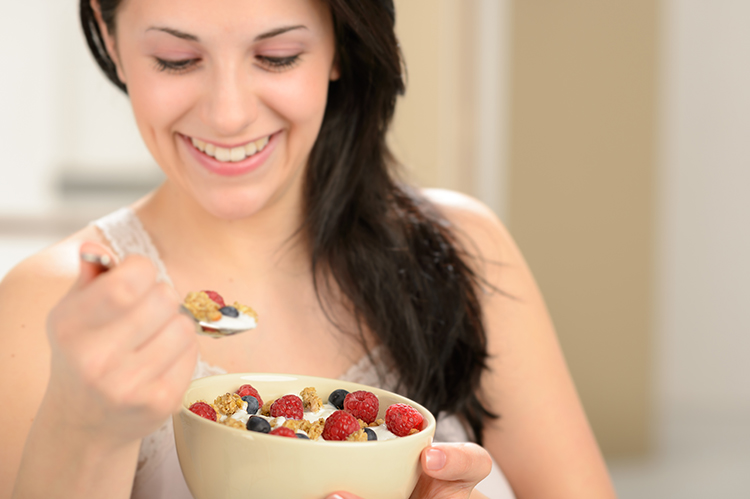 Lose 20 Pounds-Don't skip breakfast