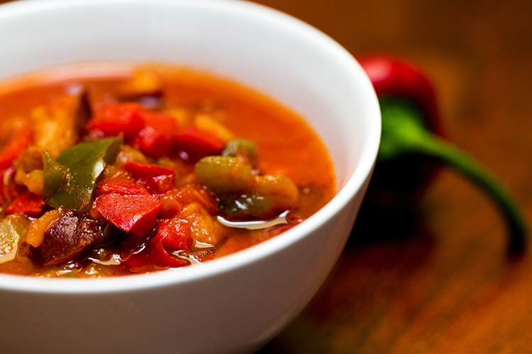 Get Flat Abs with-Spicy veggie soup