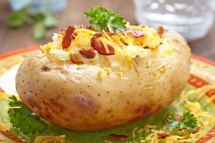 Get Flat Abs with-Loaded sweet potato