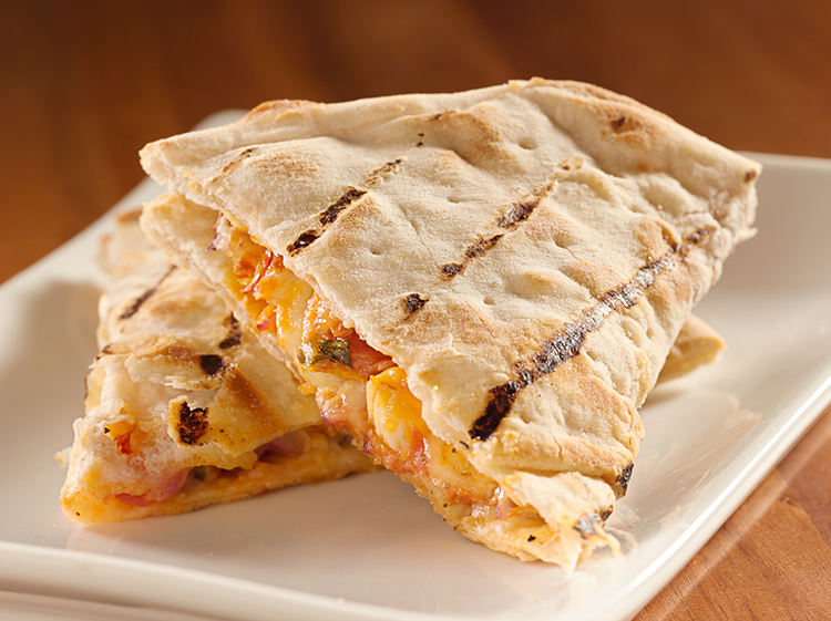 Get Flat Abs with-Mango quesadillas