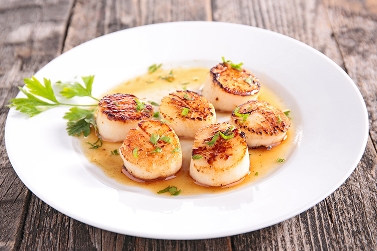 Get Flat Abs with-Tropical scallops