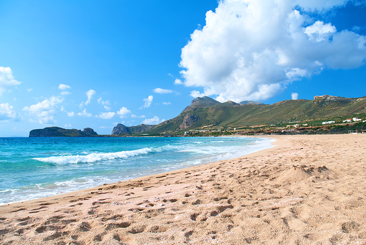 Weight Loss Plan Inspiration-Falassarna Beach, Crete, Greece