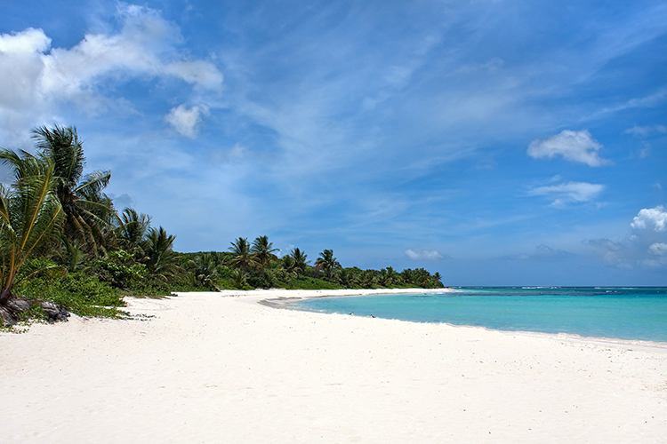 Weight Loss Plan Inspiration-Flamenco Beach, Puerto Rico
