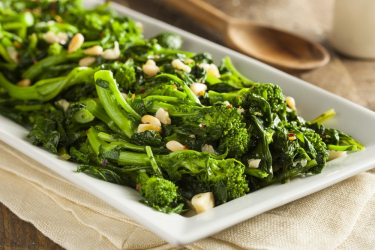 Delicious and Healthy Foods -Broccoli-Rabe