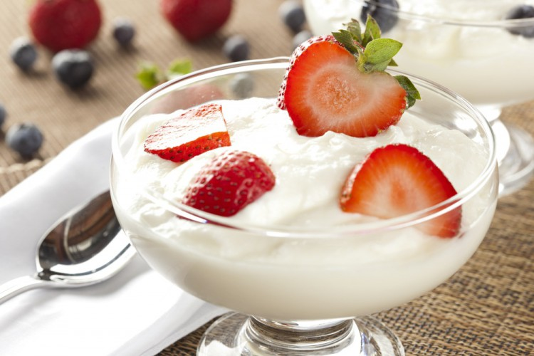 Delicious and Healthy Foods Yogurt