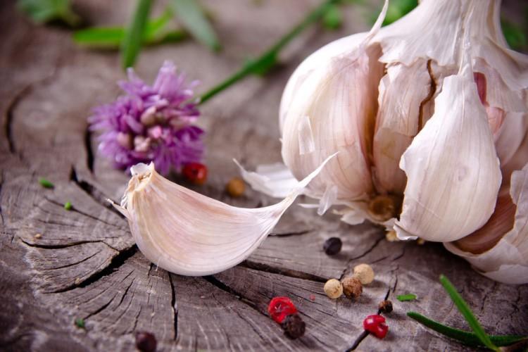 Delicious and Healthy Foods -Garlic