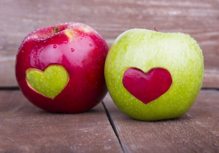 Delicious and Healthy Foods Apples