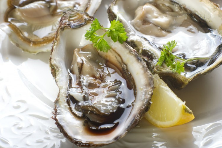 Delicious and Healthy Foods Oysters